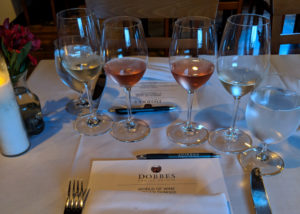 Dobbes Family Estate World of Wine Food Pairing Wine Tasting
