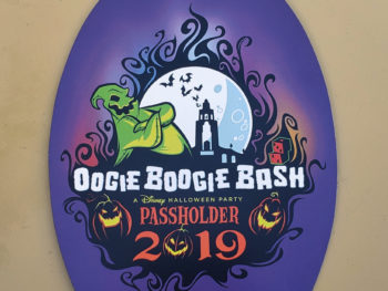 Oogie Boogie Bash 2019 Disneyland California Adventure
