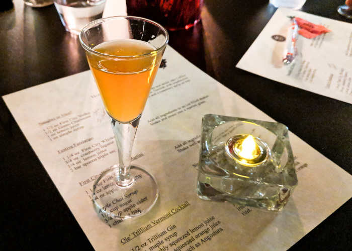 Trail Distilling Holiday Cocktail Class