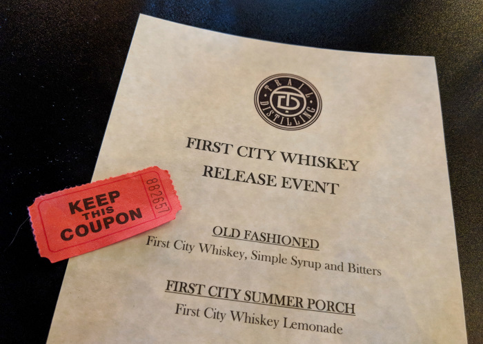 Whiskey Release Party Trail Distilling Oregon City