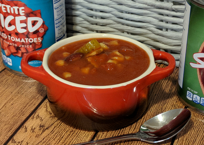 Bacon Vegetable Tomato Soup