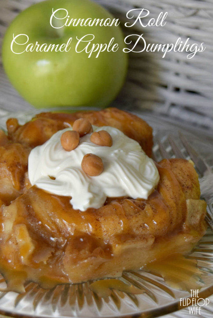 Cinnamon Roll Caramel Apple Dumplings Recipe