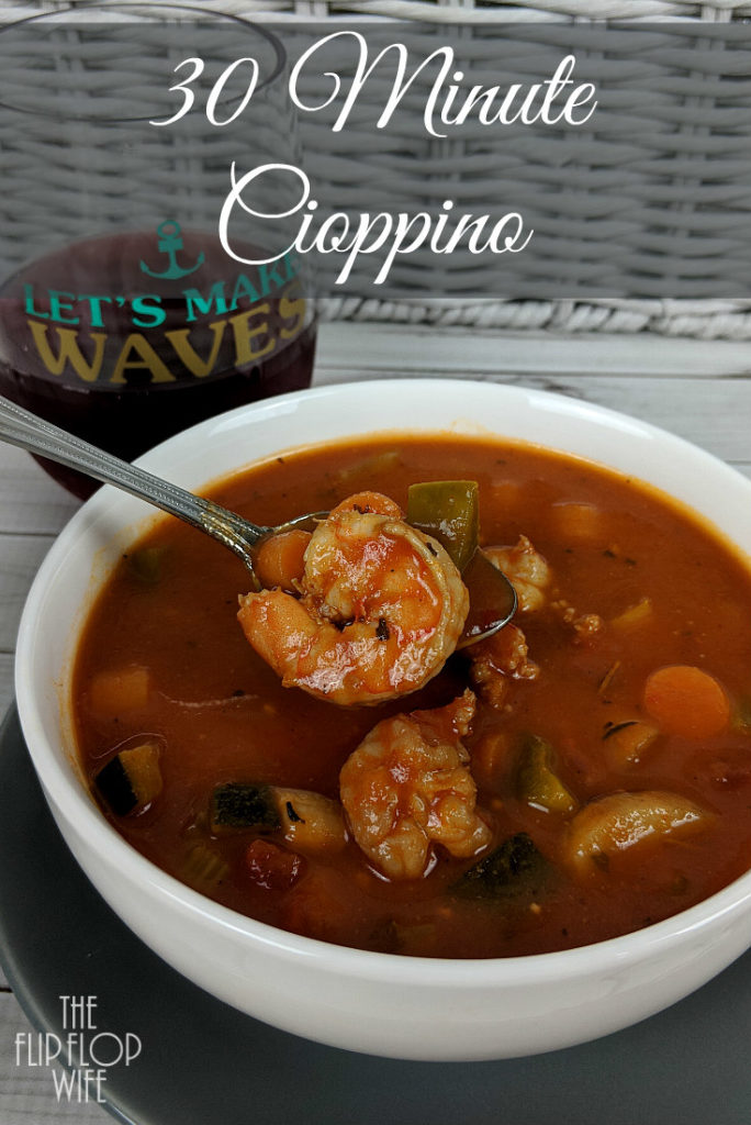30 Minute Cioppino Recipe