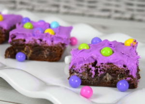 Sixlets Spring Easter Brownies Recipe