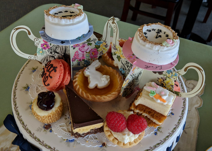 Empire Tea at Best of British Tea Room Oregon